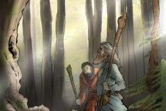 Nel cuore della vecchia foresta